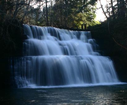 Camp Creek Falls w / Sunbeam