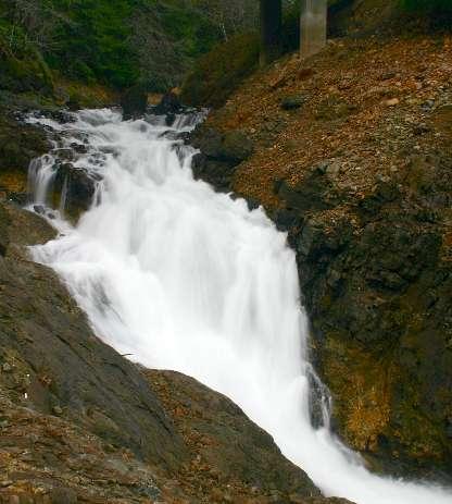 Lower Moose Creek Falls